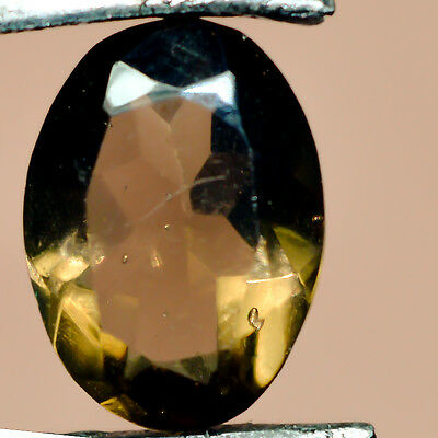 4.15 Cts Cabochon Oval well-formed Smoky GemStone Dim-12X9X5 MM S0466