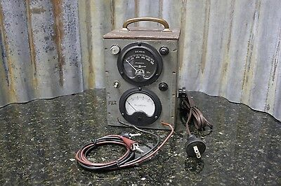 VIntage Custom Made Power Supply General Electric & Westinghouse Gauges Free S&H