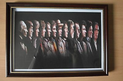 Doctor Who The Doctors 52Nd Anniversary Framed Print Christmas Sale