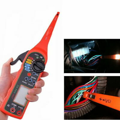 Electric Auto Circuit Tester Multimeter Lamp Probe Car Power Diagnostic MS8211