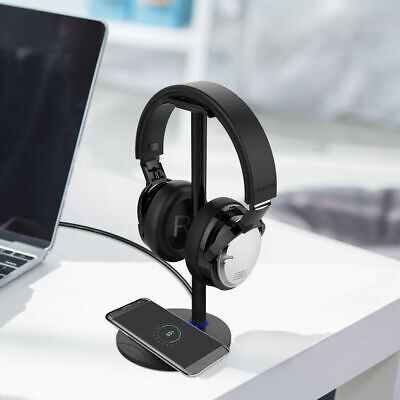Support Wireless Fast Charge Charger Earphone Headset Holder Headphone Stand