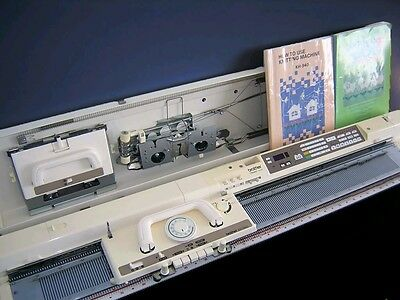 Brother knitting machine package electroknit KH 940 with KR 850 ribber complete