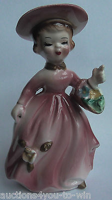 Beautiful Porcelain Lady Figurine Perfect Condition