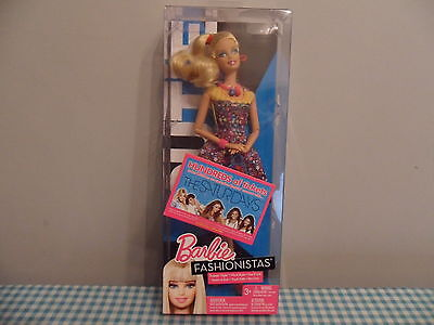 Barbie Fashionistas Swappin Styles Cutie Doll Brand New In Box