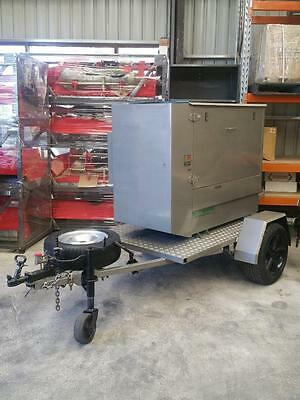 Generator 16-kva Lister – Optional trailer = New Model extreme quality