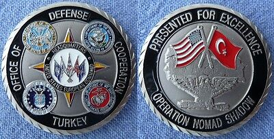 US Army European Command USEUCOM Operation NOMAD SHADOW Challenge Coin