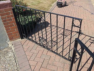 A Pair Of Wrought Iron Gates (2)