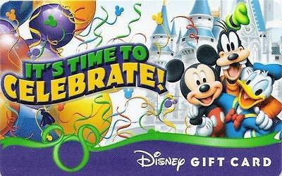 "Carte Cadeau DISNEY USA - DISNEY Gift Card  ""Célébrez 4/4 - avril 2009""."