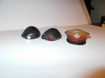 Vintage Action Man Beret X 2 Cap X 1 Not 40Th