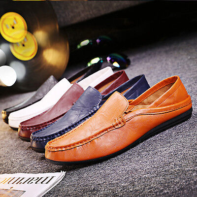 Men's Sneakers Slip on Flat Driving Loafer Shoes Casual Lightweight Comfort Walk