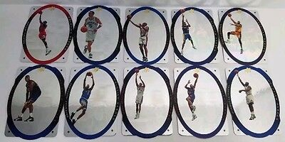Upper deck SPX holoview heroes 1996 set insert 10 cartes nba Collection complète