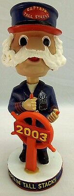 Bobble Head Promotional Nodder River Boat 2003 Captain Tall Stacks Hand Painted