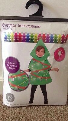 Brand New Christmas Tree Costume which lights up