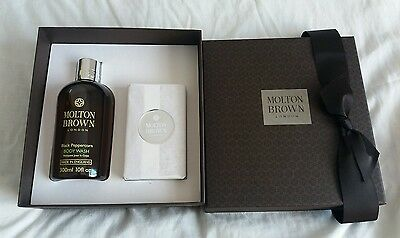 Molton Brown Re-Charge Black Pepper Essentials Gift Set For Him In Gift Box