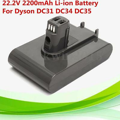 22.2V 2200mAh Li-ion Battery Replacement For Dyson DC31 DC34 DC35 Vacuum Cleaner