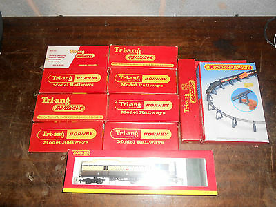 Hornby R4108 GWR Royal Mail TPO Set '848' plus job lot of track and extras