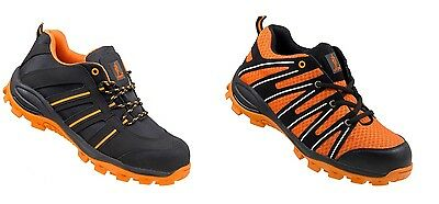 Men Safety Trainers Shoes Boots Work Steel Toe Cap Hiker Ankle Size S1 261;262