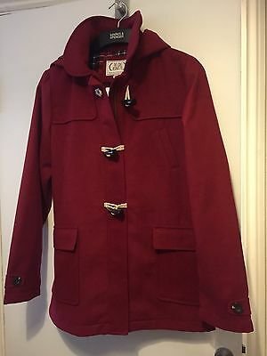M&S AUTOGRAPH GIRLS KIDS  DUFFLE  COAT  JACKET. AGE 13/14 years. NEW