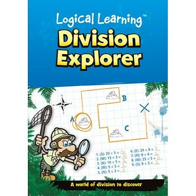 Division Explorer Maths Learning Classroom Education Logical Learning