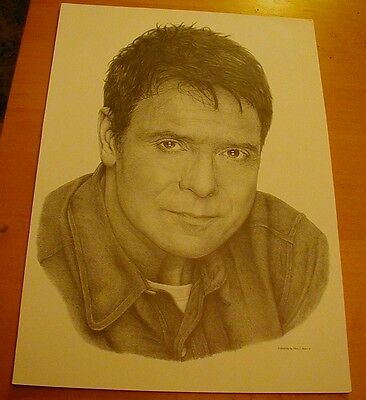 A3 Sketch of Cliff Richard