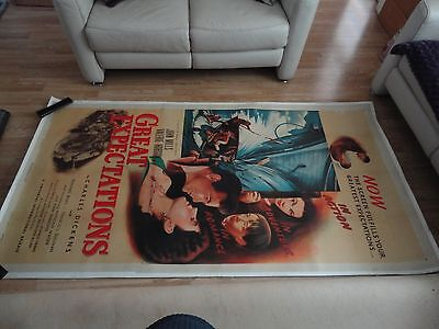 Original Us 3 Sheet Poster Great Expectations  Charles Dickens Classic 1947