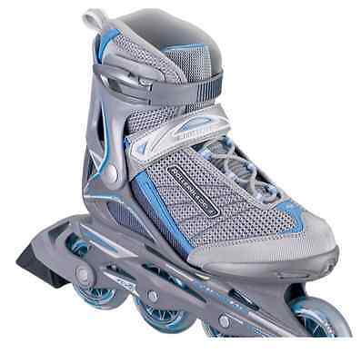 Rollerblade Geo III Women's Inline Skates Grey/Light Blue UK 4