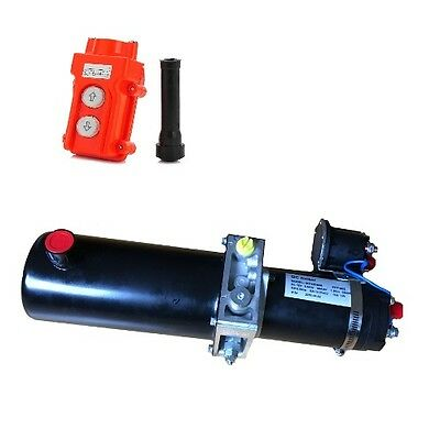 PPD-12-800-77S 12 V DC hydraulic pump reversible 2000psi steel  12 VDC 12V
