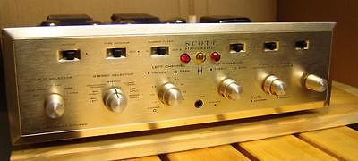 SCOTT 'STEREOMASTER' integrated valve amplifier in excellent condition.......