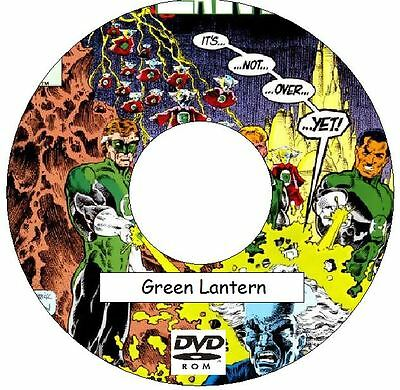 Green Lantern Comic Collection on DVD 425 Issues plus 9 Annuals