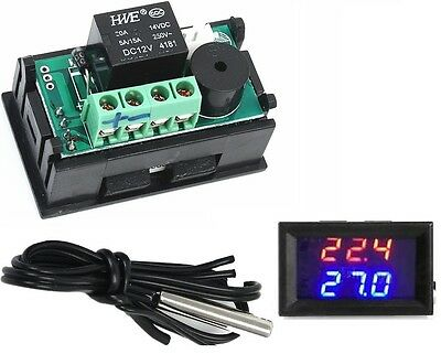 DC12V -50-110°C W1209WK Digital thermostat Temperature Control Smart Sensor K9