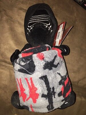 "Star Wars Darth Vader Character And Super PlushThrow Blanket Set 40""x50"" New"