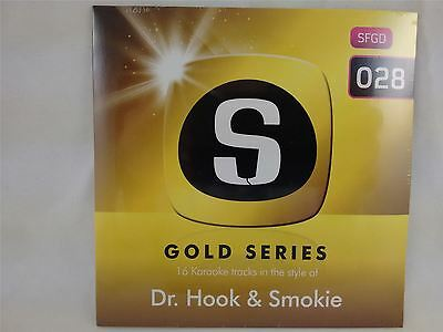 Sunfly Karaoke Gold Series Volume 28 Dr. Hook & Smokie CD+G New Sealed