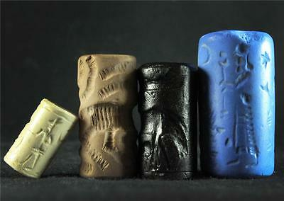 ANCIENT CYLINDER SEAL SET #20 stone seals ancient replicas