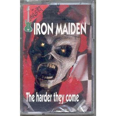 iron maiden The Harder They Come (In Concert lbl Ltd live 7-trk -cassette tape