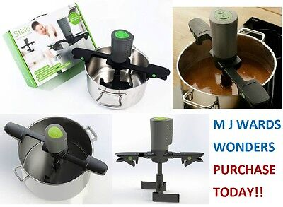 Stirio - The Adjustable Automatic Pot Stirrer ** A MUST / PURCHASE TODAY **