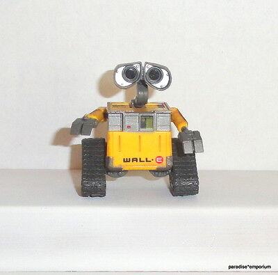 "Thinkway Toys Disney Wall-E Robot 2.5"" Mini Action Figure Poseable Rolling"