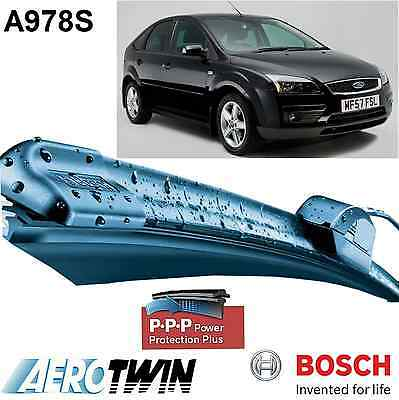 FORD FOCUS II MK2 NEW Genuine BOSCH A978S Aerotwin Front Wiper Blades Set