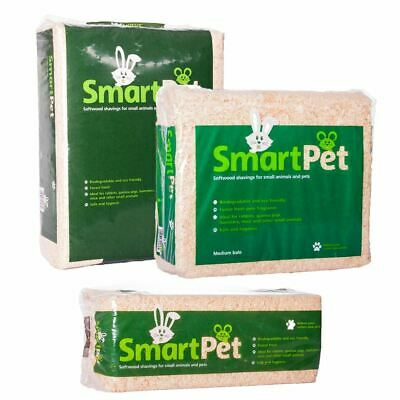 Pet Wood Shavings in 3 sizes, warm bedding, biodegradeable by Smart Pet