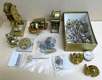 Clock Used Spares. Steam Punk. Job Lot of clock parts.