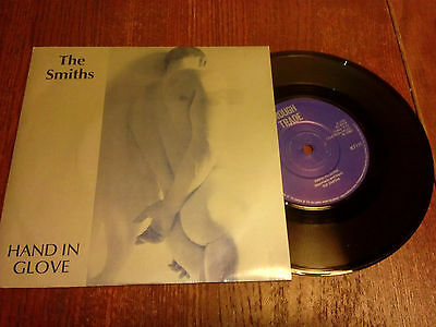 """The Smiths - Hand in glove - 7"""" - Manchester address - Rare!"""
