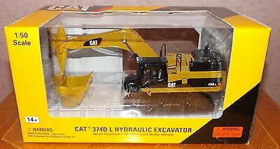 NORSCOT 55274 CAT 374D L HYDRAULIC EXCAVATOR 1:50 SCALE BOXED Pre-Owned