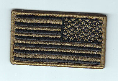 USA Flag ,Patch,Multicam (OCP), Reversed with Velcro  #M98