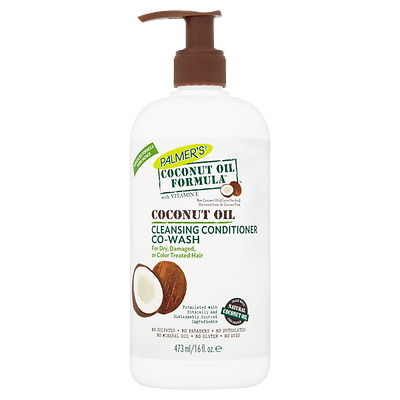 Palmer's Coconut Oil Formula With Vitamin E Cleansing Conditioner Co-Wash 16 Oz