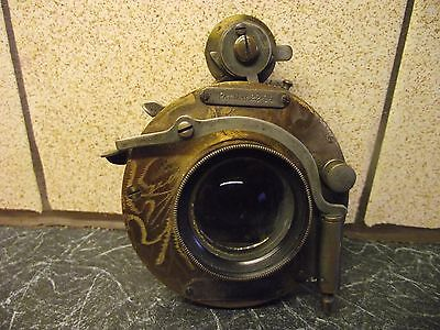 Antique Clement & Gilmer Brass Lens Clegil Patent May 22 1894