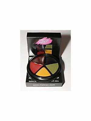 Mehron Bruise Makeup Wheel Halloween, Stage, Costume (1 oz)