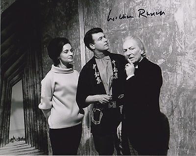 William Russell DR DOCTOR WHO Original TV Signed 10X8 photo autograph COA