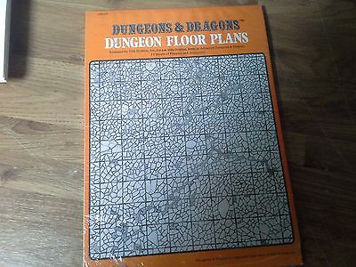 Dungeons & Dragons Dungeon Floor Plans 1979 Shrink Wrapped