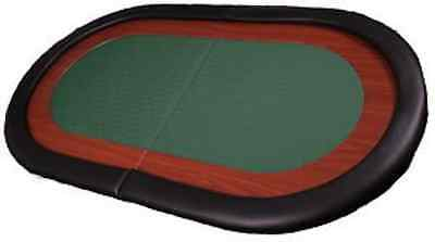 Green 8 Seat Speed Cloth Poker Table Top