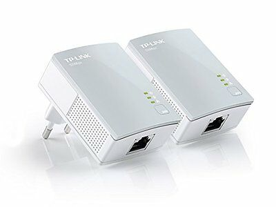 TP-LINK TL-PA4010KIT 2 Powerline AV600 con porta Ethernet 500Mbps HD Streaming