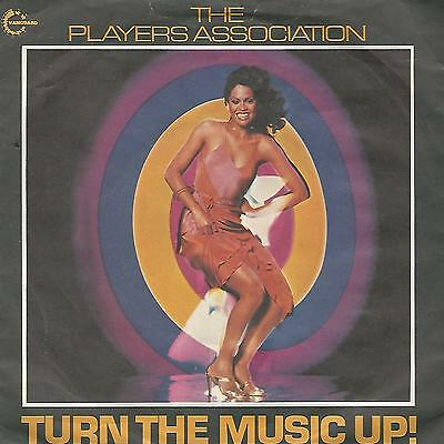 """The Player Association"""" Turn The Music Up! / Goin' To The Disco"""" 7"""" Uk Press"""